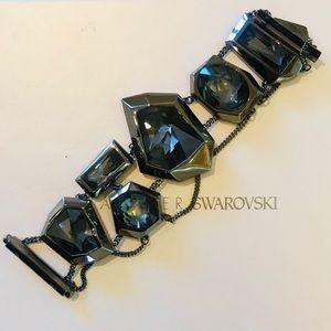 """Jean Paul Gaultier """"Reverse"""" Gunmetal  Bracelet"""